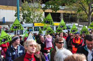 Image:2009 Climate Emergency Rally Melbourne DSC 1008.jpg