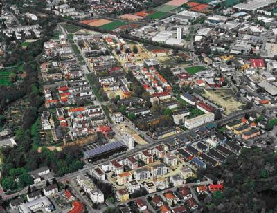 Vauban from the air, 2006