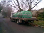 Two water tankers were required