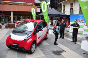 iMiEV on show in Melbourne