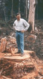 John Brumby on a stump