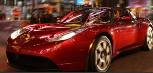 Tesla Roadster. Credit: Tesla Motors