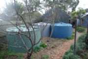 Brunswick West house water tanks