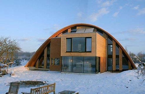 Crossways Eco Arch House Greenlivingpedia A Wiki On Green Living Building And Energy