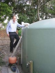 Surrey Hills house main water tank (13,500 litres)